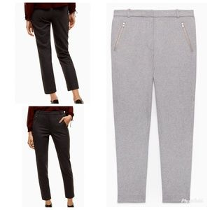 Aritzia Wilfred Gimont Wool Blend Ankle Pants